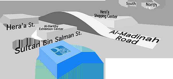 Professionals Location Map